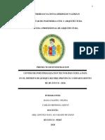 CENTRO DE INDUSTRIALIZACION TECNOLÓGICO DE LA PAPA kichki