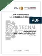 Algoritmos Congruenciales