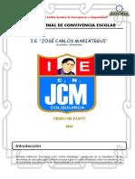 INFORME FINAL DE CONVIVENCIA - I.E. JOSÉ CARLOS MARIÁTEGUI