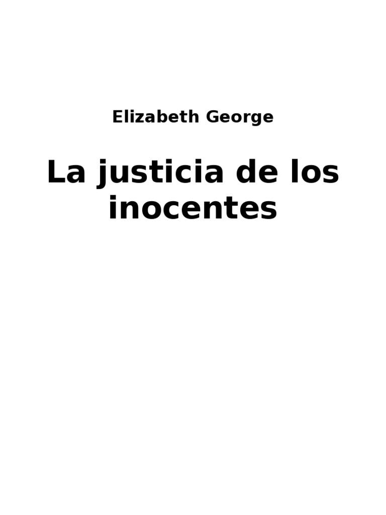 George, Elizabeth - La Justicia de Los Inocentes