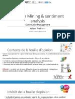 opinion mining & sentiment analyses