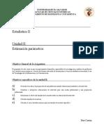 Guia Unidad II Estimación de parámetros 2019