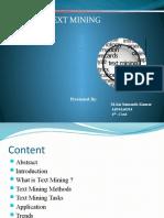 Text Mining PPT[1163].Pptx [Autosaved]