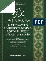 book-gateway-to-understanding-aqeedah-fiqh-seerah-tafseer