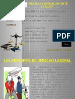 Los Principios de Derecho Laboral1