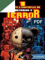 Biblioteca universal de misterio y terror - AA VV