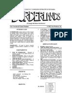 """Reglas juego de mesa """"Borderlands"""""""