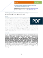 Contribution de la didactique Madagascar