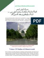 Admiration and Virtues of Madina Al Munawwarah