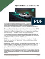 PRIMEIRA MUDANÇA AUTOMÁTICA NO MUNDO DAS TIC