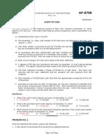CPAR AP - Audit of Cash