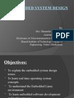Lec 1Embedded System Design Ppt