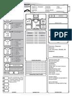 D&D 5th Edition Lizardman Character