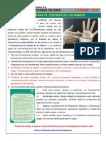 Charla Integral SSSE 287 - Receta para el cuidado de las manos