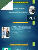 diapositiva Auditoria de cumplimiento - tecnica de auditoria