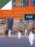 Spirits and Animism in Contempo - Fabio Rambelli