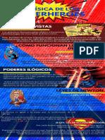 Infografía de La física de los superhéroes