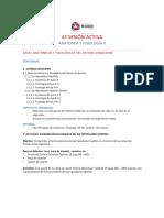 4a Sesión Activa AyFII Sistema Endocrino Eje H-H e H-H-Tiroides