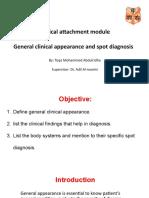 تقى محمد-General clinical appearance.pptx