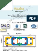 RCC-Column-Notes_Apaha-Trainers-and-Consultants-Punjisksjd jsjdjsjjsjd isisjjdd jsjsjdjd jsjsje