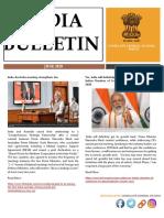 India Bulletin Newsletter - June 2020