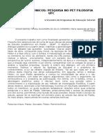 -Resumo Anais - Estudos Platônicos - Robert Brenner - Semana Universitária da Universidade Federal do Ceará 2018.pdf
