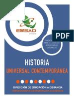 História Universal Contemporánea