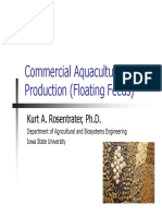 CommercialAquaFeedProductionKurtRosentrater