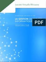 CSI 1205_FR La Gestion de Projets informatiques