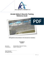 Airside Safety & Security Training Reference book - Aruba Airport Authority