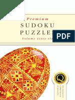 Premium SudokuPuzzles