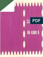 Videoton RA-6380S Cleopatra rádió
