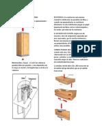 Secciones de la madera.