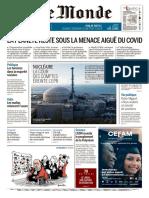 Le Monde 2 en 1 Du Vendredi 10 Juillet 2020