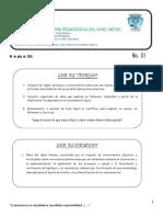 Tema No.01 04-07-2020 Teoria Cientifico Natural 2020