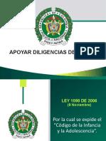 APOYAR DILIGENCIAS DE RESCATE ACTUALIZADA