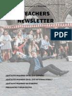 Teachers newsletter