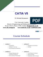 CATIA V5 Lectures1