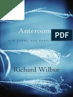 Anterooms by Richard Wilbur