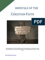 Fundamentals of the Christian Faith