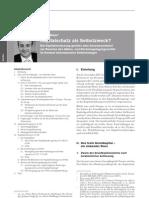 Kapitalschutz als Selbstzweck - Tobias Meyer