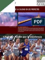 Aseguramiento de la Calidad en los Proyectos 2007