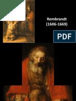 El hijo Pródigo - Rembrand