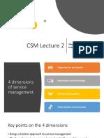 CSM - lecture 2