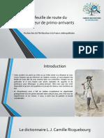 Recherche de primo-arrivants.ppsx