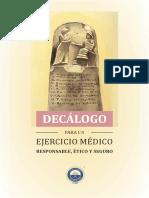 Decálogo para un ejercicio médico responsable, ético y seguro