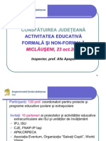 raport activitate educativa