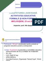raport activitate educativa