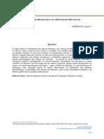 As ciências humanas e as ciências da educação.pdf