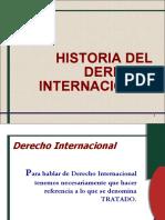 HISTORIA  DERECHO INTERNACIONAL